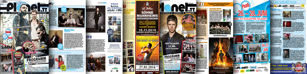 Planet-Magazin Balken